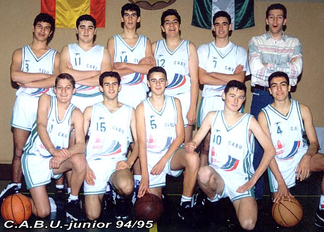 CABU JUNIOR 1994/1995